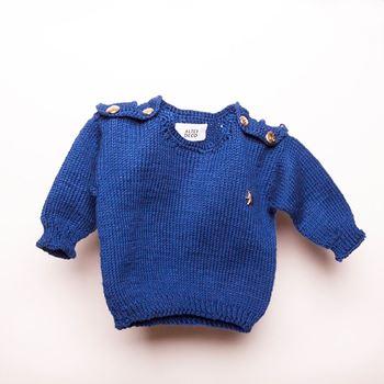 Obrázek dětský svetr diplomat