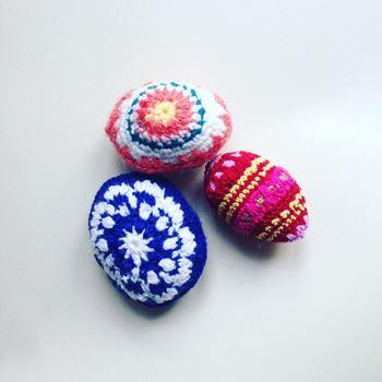 Obrázek pletené kraslice